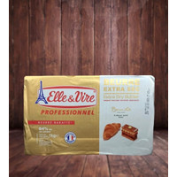 Butter Sheet Elle & Vire Beurre Extra Sec 1Kg 84%mg Fat Content