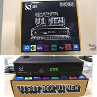 Receiver TV Set Top Box Visat U1 New DVB T2 Digital DVBT2 Antena UHF