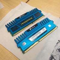 Memory RAM Corsair Vengeance 4GB Dual Channel DDR3 CMZ4GX3M2A1600C9B