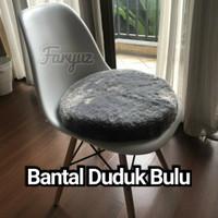 SUPER EMPUK Bantal/Alas Duduk 40x40cm Tebal 8cm & 5cm Bulat/Kotak Busa