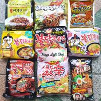 samyang jajangmyeon bulnak paldo ramen korea halal jjajangmen murah