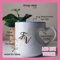 MUG PRESS MUG LOVE CUSTOM DESAIN PRINTING INCLUDE BOX SATUAN -SOUVENIR