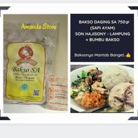 Bakso SA - Son Hajisoni / Bakso Soni / Bakso Sony - Lampung (+ Bumbu)