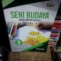 buku seni budaya SMP/Mts kelas 3-9 penerbit Erlangga