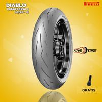 Ban Motor Matic // PIRELLI DIABLO ROSSO CORSA II 90/80 R14 Tubeless