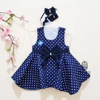 PK0204 - Terbaru Dress Cantik Baju bayi Perempuan 0-12 bulan
