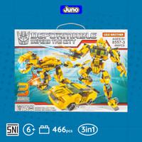 Mainan Bricks Robot Transformer Bumblebee Compatible LEGO  Juno 8557-3