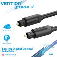 Vention [BAE 5M] Kabel Toslink Digital Audio Optical / Fiber Optik - Hitam