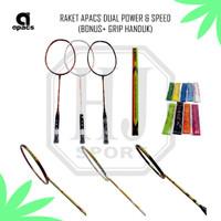 Raket Badminton Apacs Dual Power & Speed Original