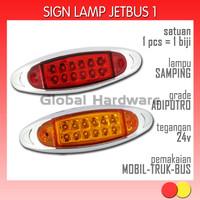 Lampu LED Aksesoris Variasi Marker Samping Sein Sign Mobil Truk Bus 05