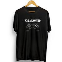 Kaos Keren / Baju / Kaos Distro Pria Player Console - GA108PRCE - Hitam, M
