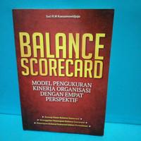 Buku BALANCE SCORECARD BY. KOESOMOWIDJOJO (ORI, BEKAS)