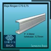 Baja Ringan Truss C75 0,75 mm