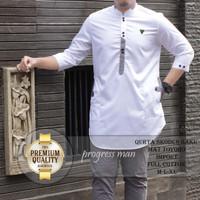 Baju muslim pria baju koko pakistan model kurta tangan panjang