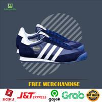 Big Sale! Sepatu Sneaker Adidas Dragon Navi White Original BNWB
