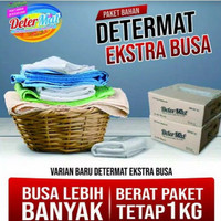 bahan pembuat detergen determat extra busa ( detergen cair )