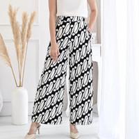 celana kulot batik / 164AON - one size