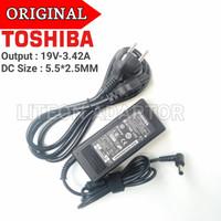 Adaptor Charger Original Laptop Toshiba Satelite C800 C840 C840D 65W