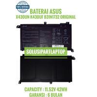 ORIGINAL BATERAI ASUS X430UN S430 S40FA S430FU B31N1732 D550 D550MA