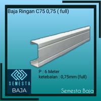 Baja Ringan Truss C75 0,75 mm (full)