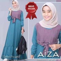 Gamis Anak Remaja Usia 12-14Thn Baju Muslim Anak Perempuan AIZA DRESS