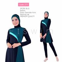 Baju renang muslimah/Dewasa/remaja/pakaian renang muslim/cewek - Z15, M