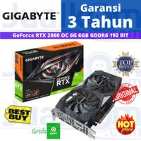 VGA Gigabyte GeForce RTX2060 RTX 2060 OC 6 GB 6GB DDR6 192BIT