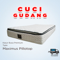 [CUCI GUDANG] Kasur Busa Premium American Pillo Maximus Pillotop
