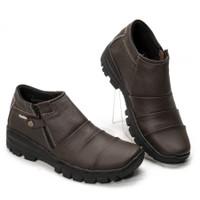 SEPATU HIKING SAFETY BOOTS BOOT KICKERS PRIA KULIT ASLI DOCMART 84SH