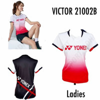 MURAH Baju Jersey Badminton Wanita Cewek Yonex 21002B Grade Ori Import