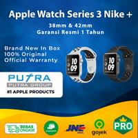 (IBOX) Apple Watch Series 3 Nike + 38mm 42mm 38 42 Resmi TAM GPS