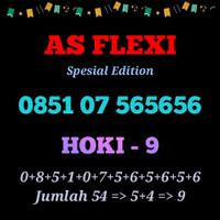 Kartu As Flexi nomor Hoki 9 spesial edition Telkomsel exclusive 565656