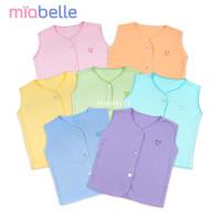 Miabelle Baju Buntung Kancing Depan Polos Newborn