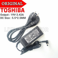 Adaptor Charger Original Laptop Toshiba Satelite L745 L645 L635 L630