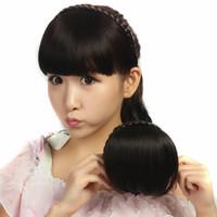 Hairclip Bando Poni Kepang / Poniklip Bando Kepang / Fake Bangs