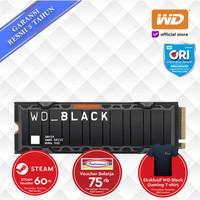 SSD WD Black SN850 500GB with HEATSINK - SSD M.2 NVMe PCIe HEATSINK