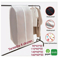 Cover pelindung baju pakaian anti air penutup pakaian baju anti debu - 90*60*50