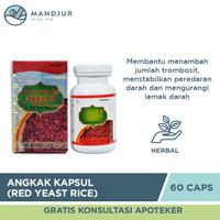 Angkak Kapsul (Red Yeast Rice) - Obat Hipertensi, Kolesterol, DBD