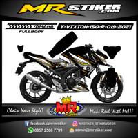Decal Motor Yamaha Vixion R Fullbody Stiker Premium Grade Racing Decal