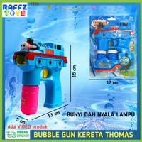 Bubble Gun Mainan Camera Pistol Gelembung Sabun Buble Balon Air