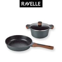 RAVELLE ROYALE Bundling 2 Pcs - Fry Pan 26Cm + Casserole 20Cm