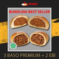 BUNDLING BEST SELLER 3 BASO AYAM PREMIUM 2 ROTI EBI PONTIANAK ROTIHUI