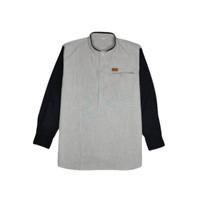 Baju Koko Anak Laki-laki Lengan Panjang - Umur 4-14 tahun-Arkids Stuff - Hitam, 4