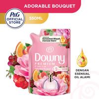Downy Pelembut & Pewangi Pakaian Adorable Bouquet Refill 550ml