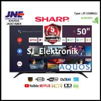 LED TV Sharp 50 Inch 2T-C50BG1i / 50BG1 FullHD AndroidTV HDMI USB