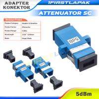 Attenuator Fiber Optik SC 5dB