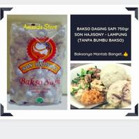 Bakso Sapi - Son Hajisoni 750 gram / Bakso Sony / Bakso Soni / Lampung