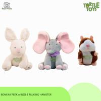 Boneka Peek A Boo Boneka Elephant Gajah Rabbit Boneka Hamster Suara