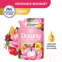 Downy Pelembut & Pewangi Pakaian Adorable Bouquet Refill 900ml