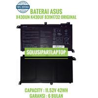 ORIGINAL BATERAI ASUS X430UN S430 S40FA S430FU R430 B31N1732
